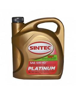 Масло моторное SINTEC PLATINUM 5W40 синтетическое 4л
