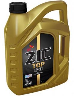 Масло моторное ZIC TOP SAE 5W30 (синт) 4л