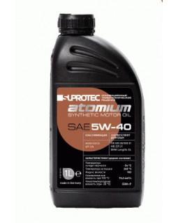 Масло моторное Suprotec Atomium 5W40 синтетическое 1л