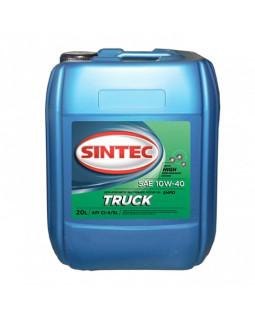 Масло моторное SINTEC Truck 10w40 CI-4/SL 20л
